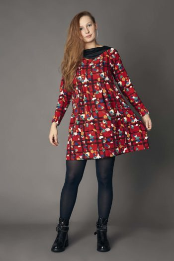 vestido corto rojo labocoque