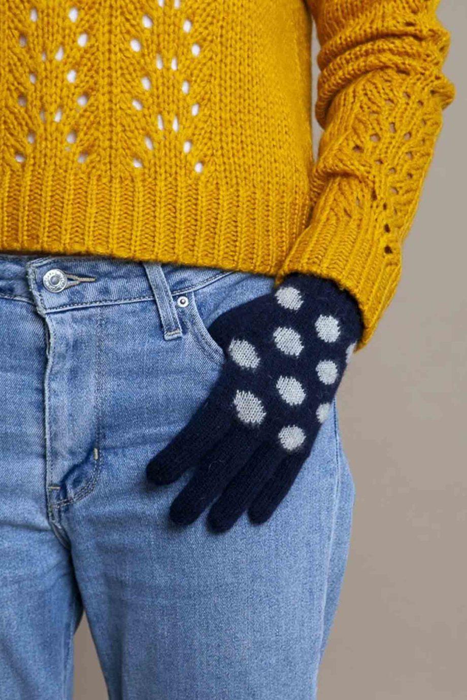 lana-mint-guantes-tactiles-dots-marino