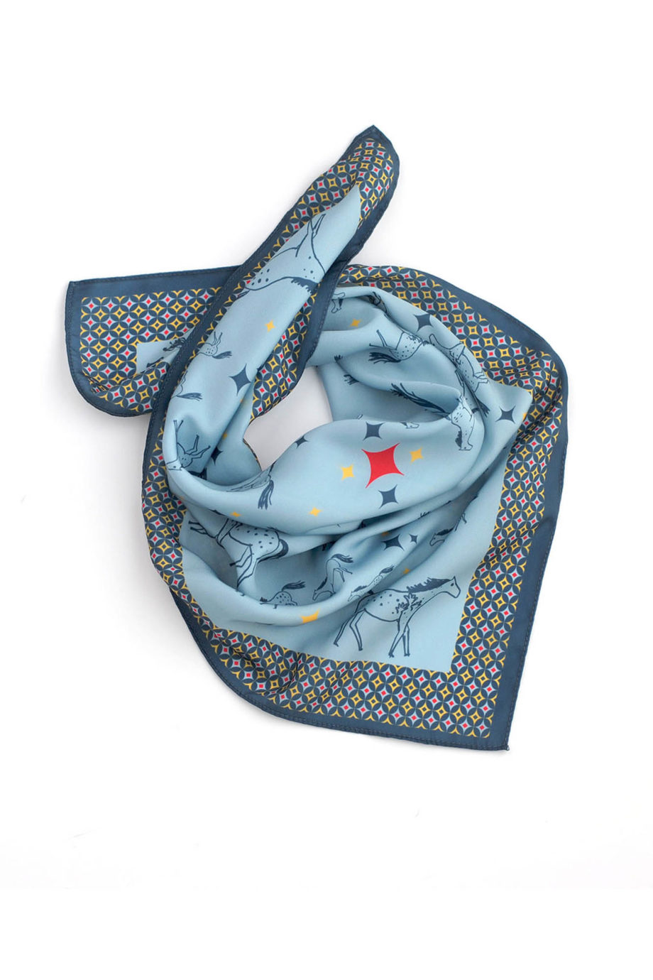 maria-kent-studio-pañuelo-horses-azul