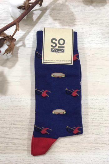 somosoceano-calcetines-gaitas-panderetas-azul