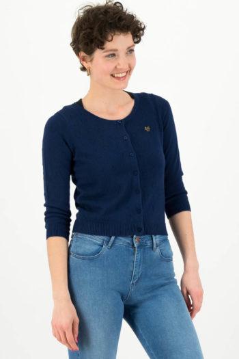 blutsgeschwister-chaqueta-logo-azul