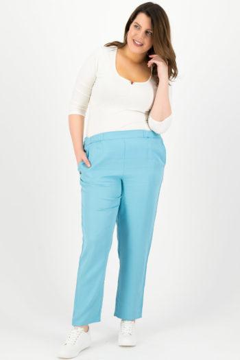 blutsgeschwister pantalon logo azul