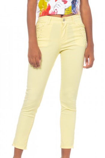 cowest-pantalon-capri-amarillo