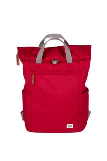 ROKA-FINCHLEY-mochila-sostenible-pequeña-VOLCANIC-RED