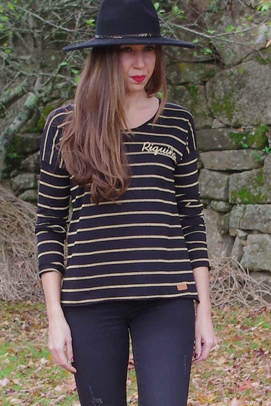 SOMOSOCEANO-camiseta-RIQUIÑA-ORO