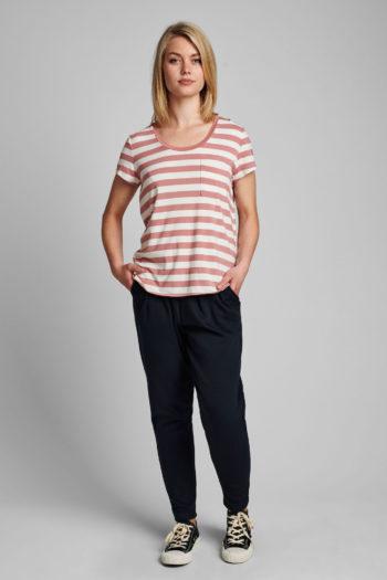 NÜMPH-camiseta-NUBOWIE-rosa