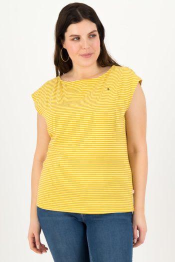 BLUTSGESCHWISTER-camiseta-TINY-YELLOW