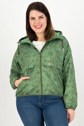BLUTSGESCHWISTER-chaqueta-cortavientos-SHADES-OF-OLIV