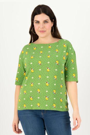 BLUTSGESCHWISTER-camiseta-YELLOW-WELLYS