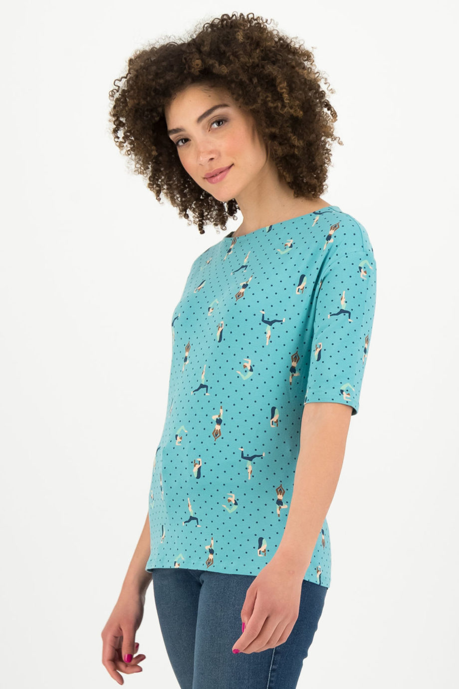 BLUTSGESCHWISTER-camiseta-YOGA-FLOWGIRLS