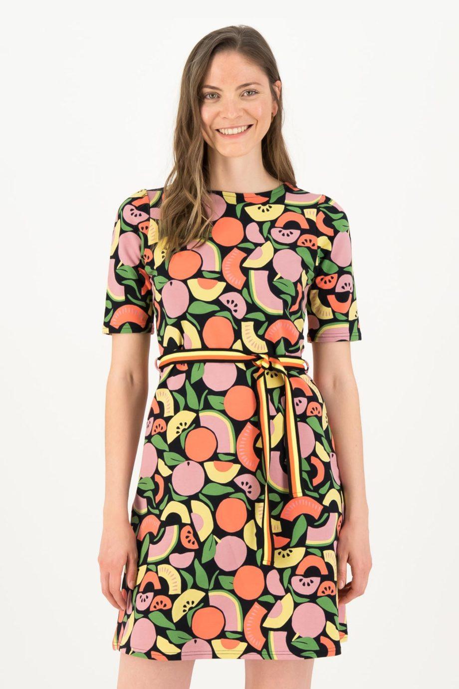 BLUTSGESCHWISTER-vestido-SMOOTHIE-FRUITS