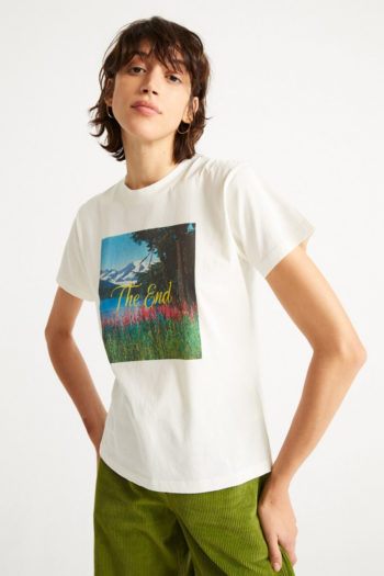 Camiseta-de-algodón-orgánico-THE-END